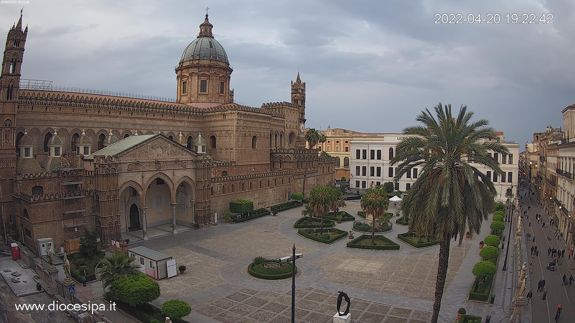 Webcam Palermo Cattedrale